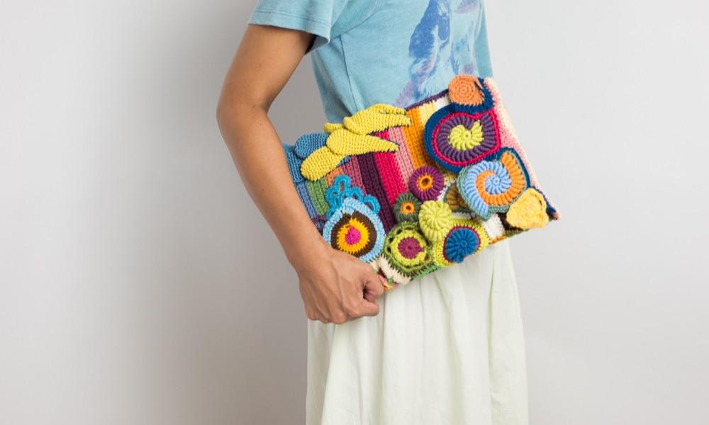 Creative knitting 『 Mac Air cover』