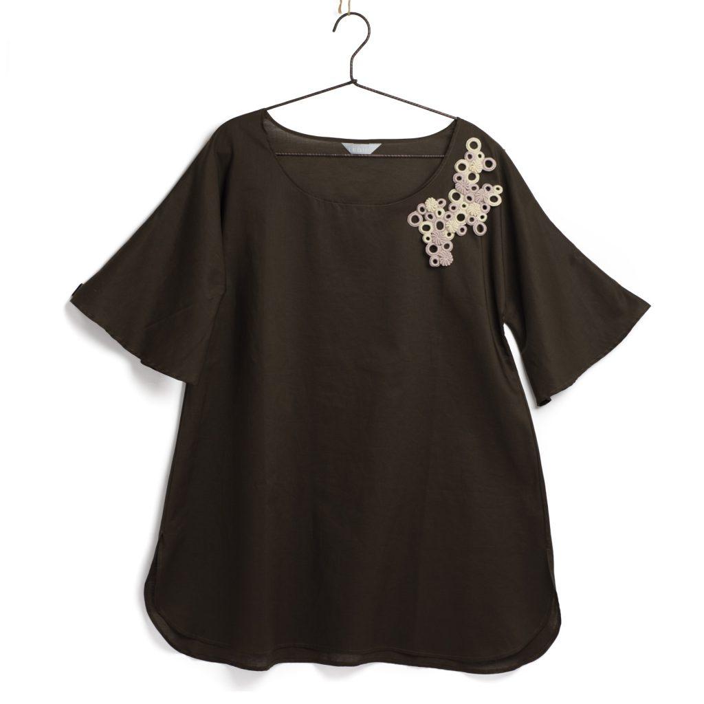 沖縄のファッションブランドLEQUIOと作ったcoral shirt